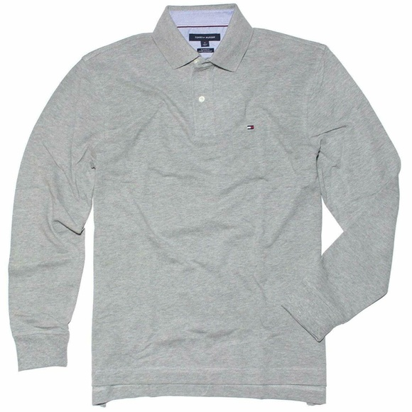 fa390d51 Tommy Hilfiger Shirts   Mens Long Sleeve Classic Fit Polo   Poshmark